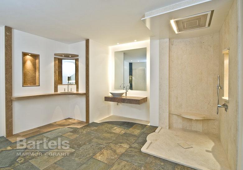 Badezimmer - Marmor und Granit-Werk Bartels, Wedel, Hamburg, Kiel ... | {Badezimmer fliesen ausstellung 80}
