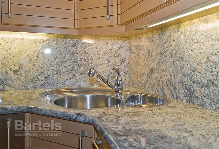 küchenarbeitsplatten und küchen aus naturstein – marmor und granit, Kuchen dekoo